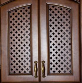 тонирование двери