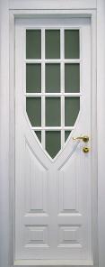 двери из ольхи белая эмаль