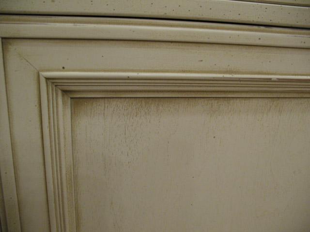 Вариант патинирования дверного полотна